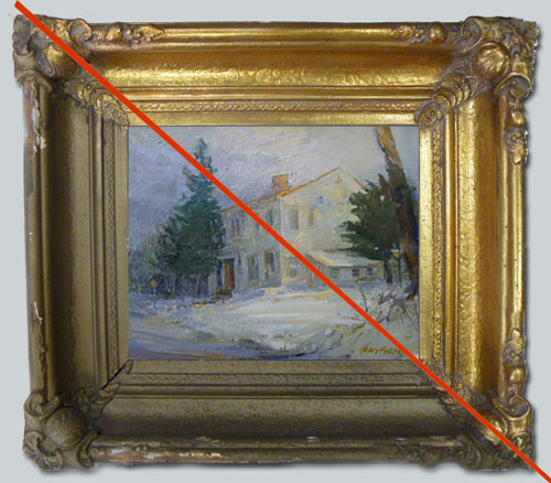 Frame Restoration — The Connoisseur Gallery
